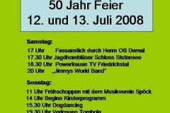 Anzeige 50 Jahr Feier VdH Friedrichstal